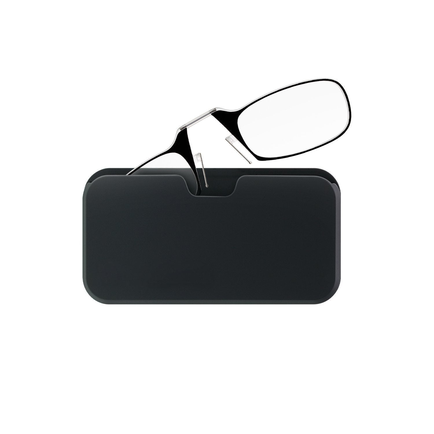 Reading Glasses + Black Universal Pod Case