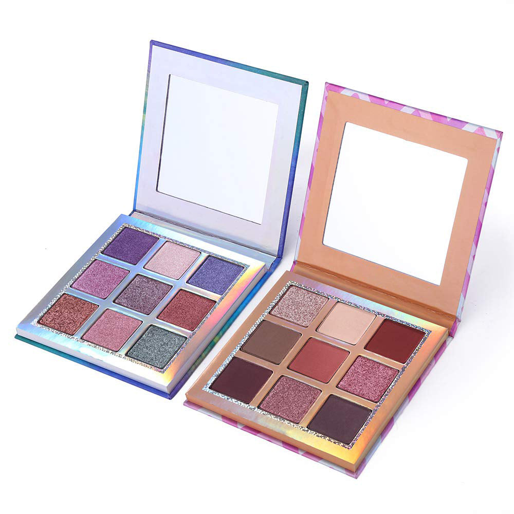 9 Colors Eyeshadow 2 Palette Set