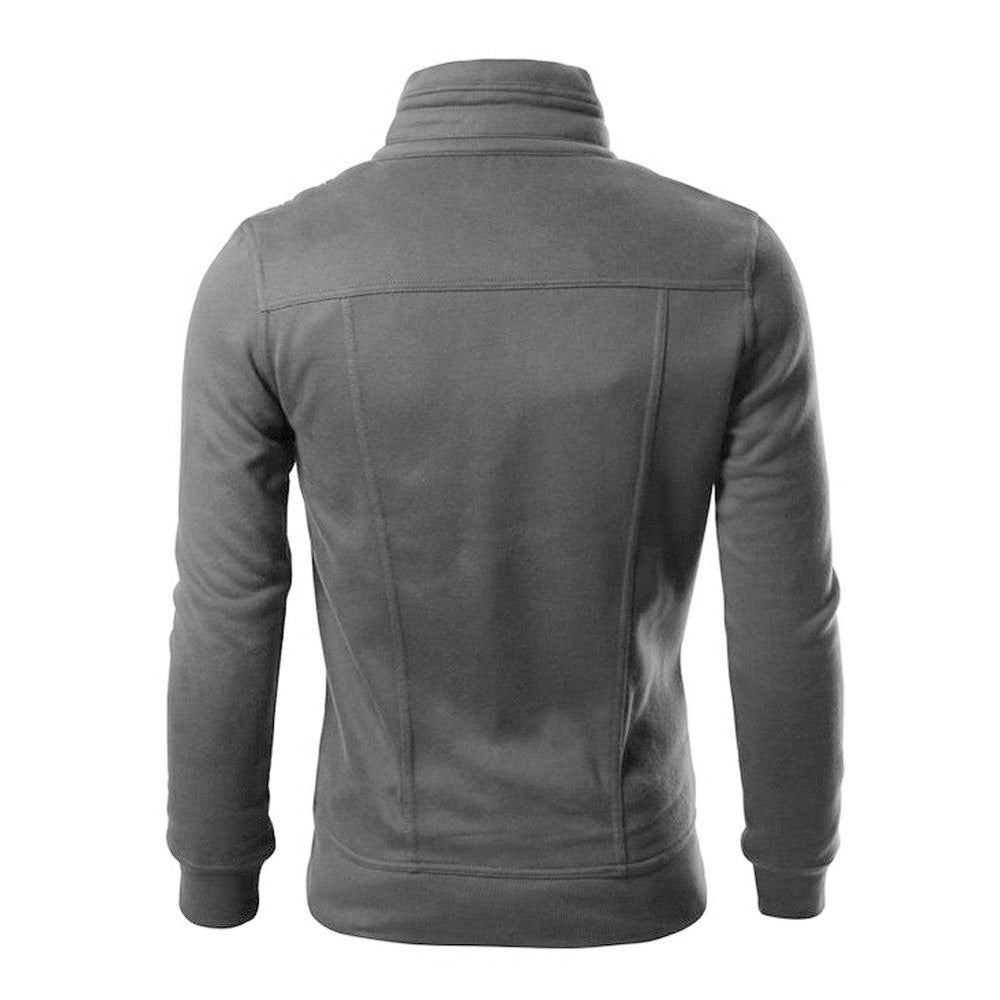 Hot Men's Outwear Sweater Hoodie Warm Slim Hooded Sweatcoat
