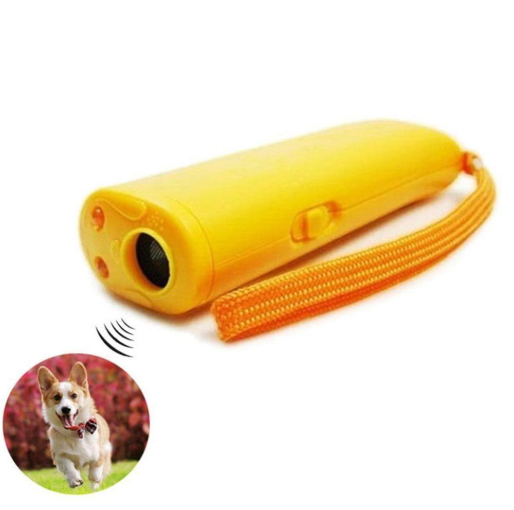 3 IN 1 ULTRASONIC DOG REPELLER, ANTI BARKING, & TRAINER DEVICE