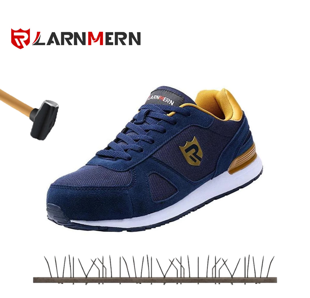 40% OFF LARNMERN Mens Womens Steel Toe Work Shoes