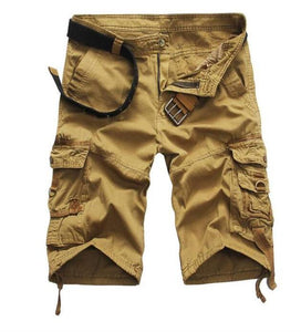 Tactical Cotton Men Cargo Shorts