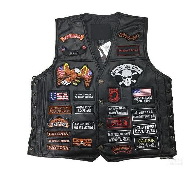 Blikers Leather Vest