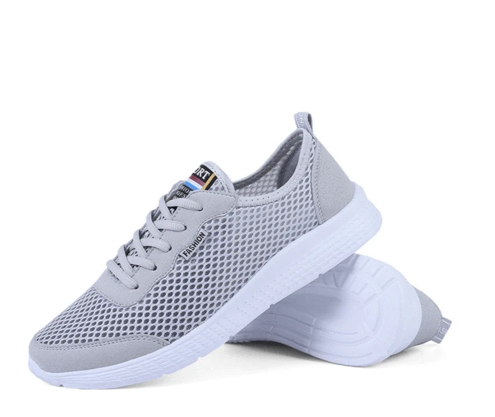 New couple casual sports shoes mesh running shoes