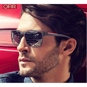 OFIR NEW 2019 Fashion Square Sunglasses Men Driving Sun Glasses For Men