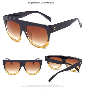 Brand Desinger Luxury Vintage Sun Glasses Fashion