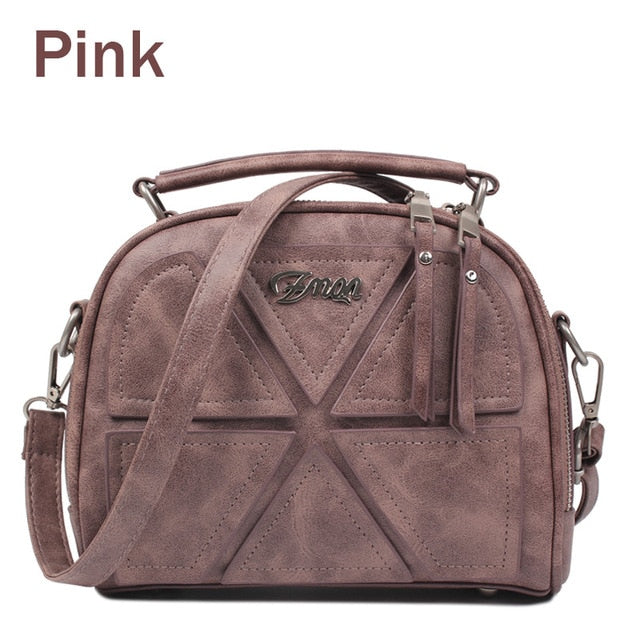 Vintage Retro Crossbody Bag Small Messenger Bag Handbags