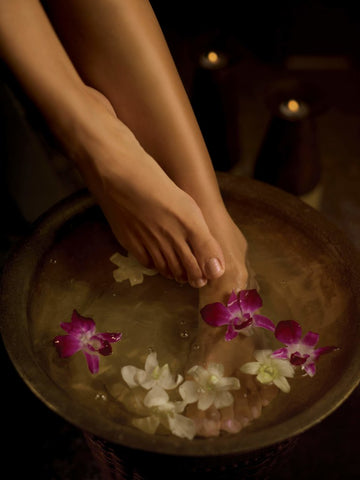 bath salts for foot detox