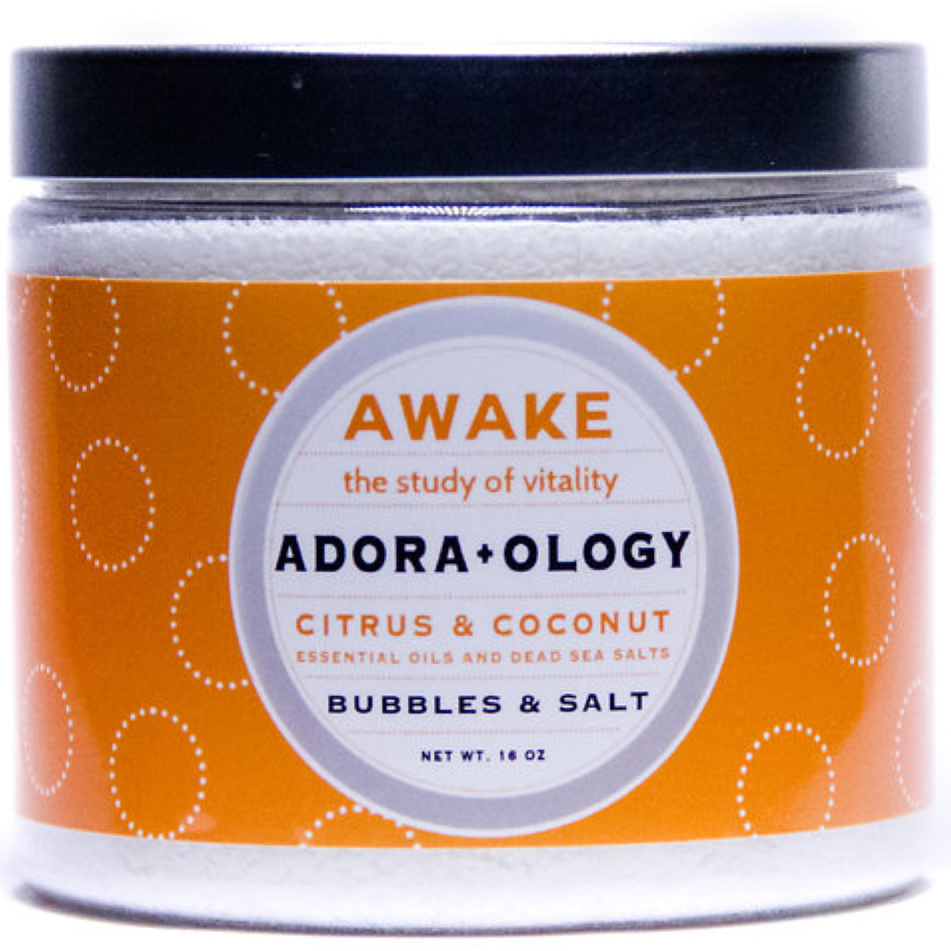 Adora+ology Awake Bubbles & Salt