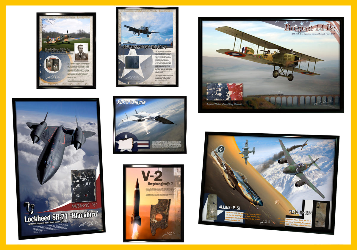 Ron Cole: Authentic Aircraft Relic Displays