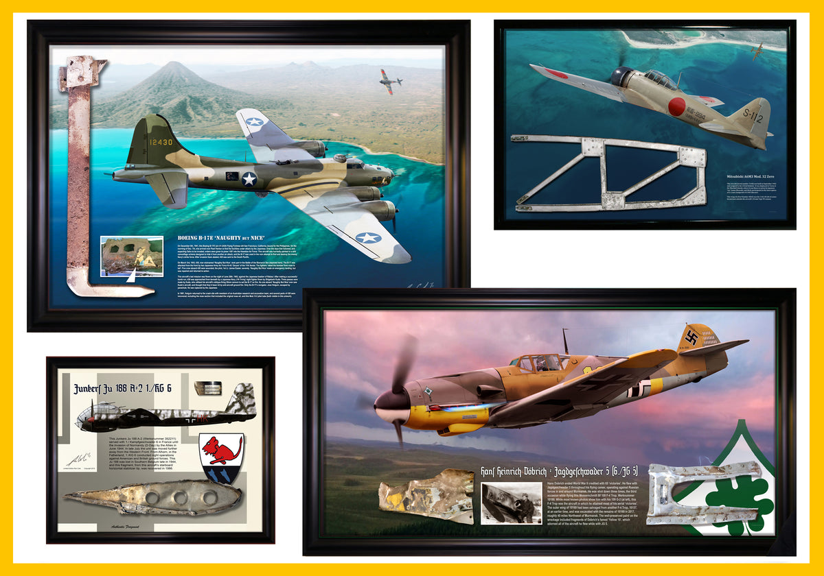 Ron Cole's Special One-of-a-Kind Aviation Relic Displays