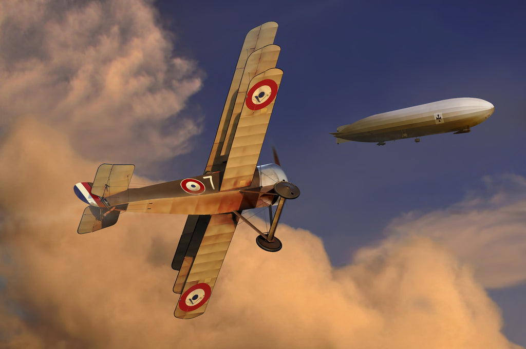 Channel Intercept: Sopwith Triplane of the French Navy - Cole's Aircraft - 1