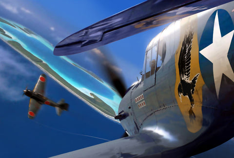 Close Encounters: P-40 Warhawk - Cole's Aircraft - 1