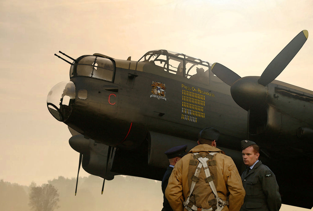 A Grave Assignment: RAF Lancaster - Cole's Aircraft - 1