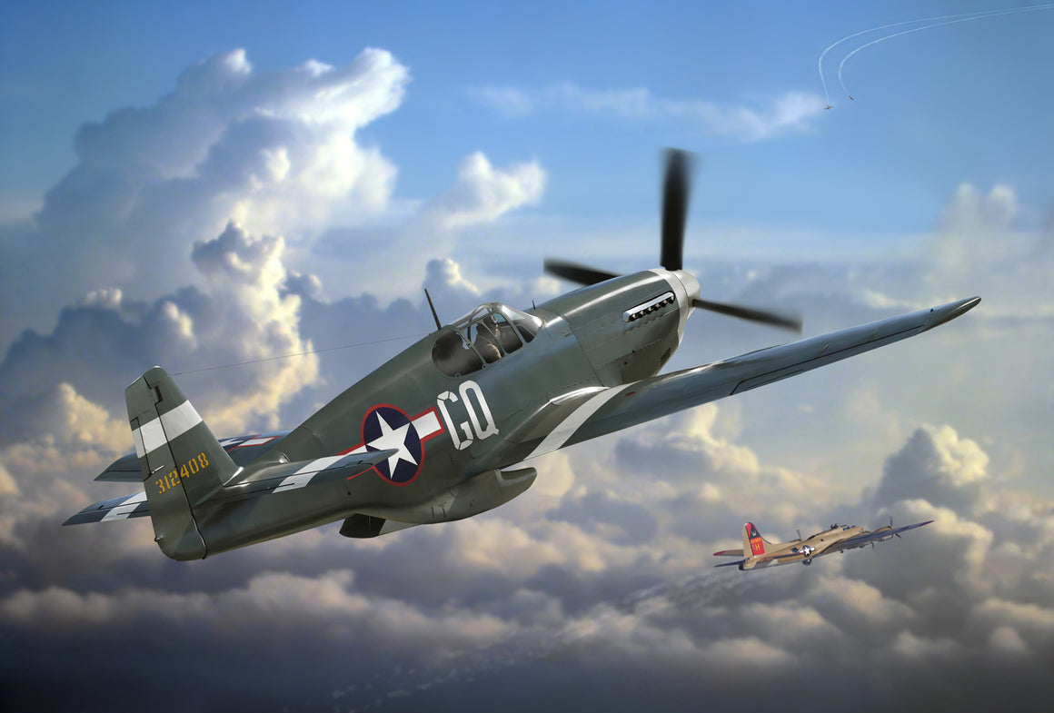 Say Hello to My Little Friend: P-51B Mustang - Cole's Aircraft - 1