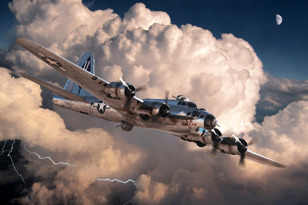 Copy of B-17G Flying Fortress 'Thunder Bird' - Cole's Aircraft - 1