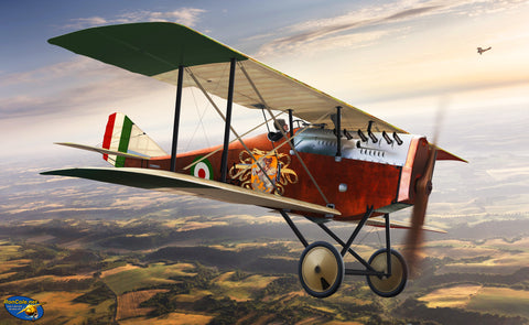 WWI Ansaldo A.1 'Balilla' Italian Fighter c. 1918 - Cole's Aircraft - 1