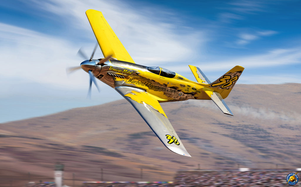 2014 P-51 XR 'Precious Metal' Griffon Powered Reno Unlimited Class Racer - Cole's Aircraft - 1