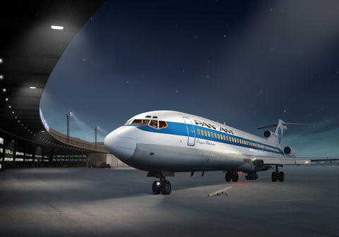 Pan Am Boeing 727 at Berlin Tempelhof - Cole's Aircraft - 1