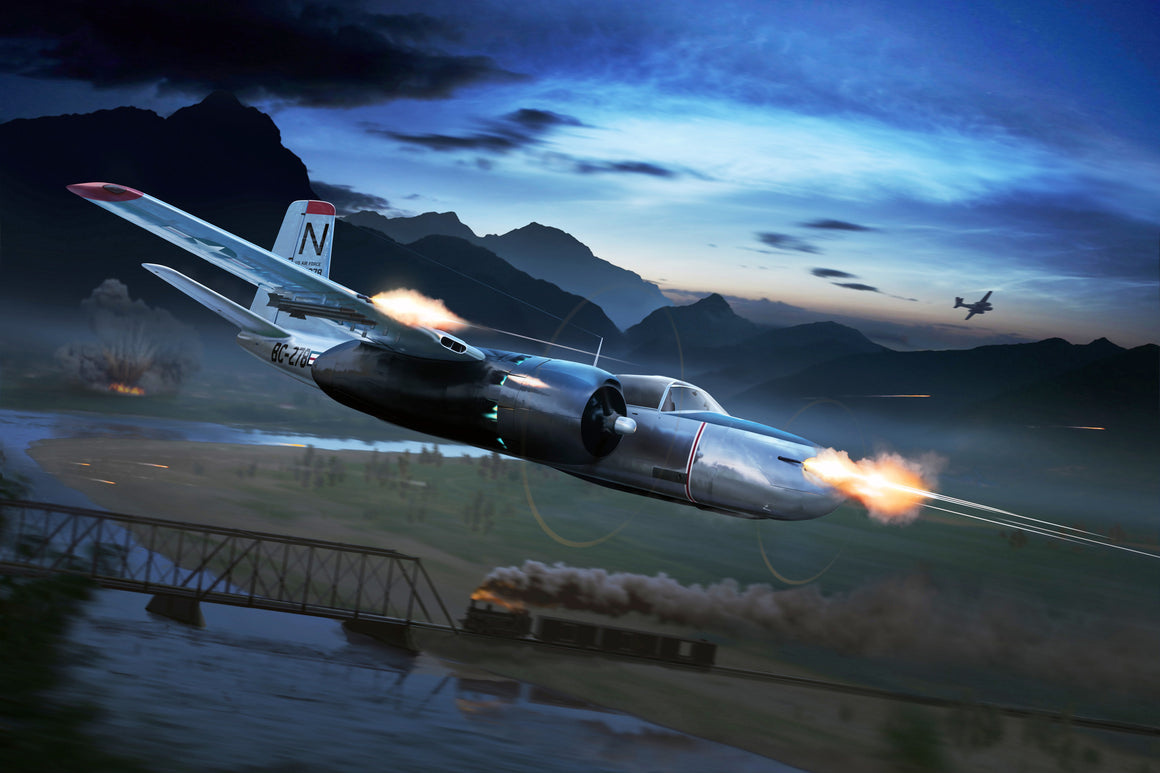 A-26 Invader 'Night Intruder' Korea - Cole's Aircraft - 1