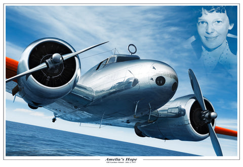 Amelia Earhart's Lockheed Electra 10 - Cole's Aircraft - 1