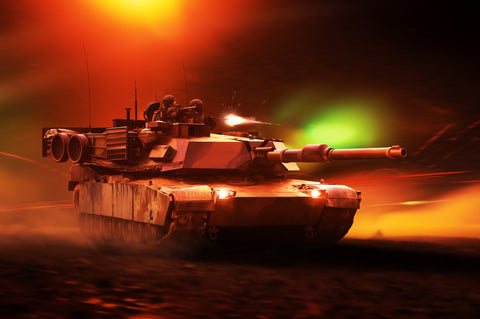 M1 Abrams, by Ron Cole
