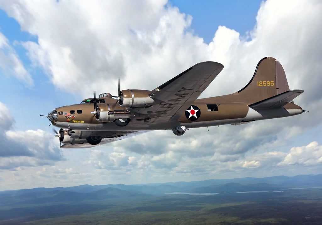 Boeing B-17E Flying Fortress 'Desert Rat'