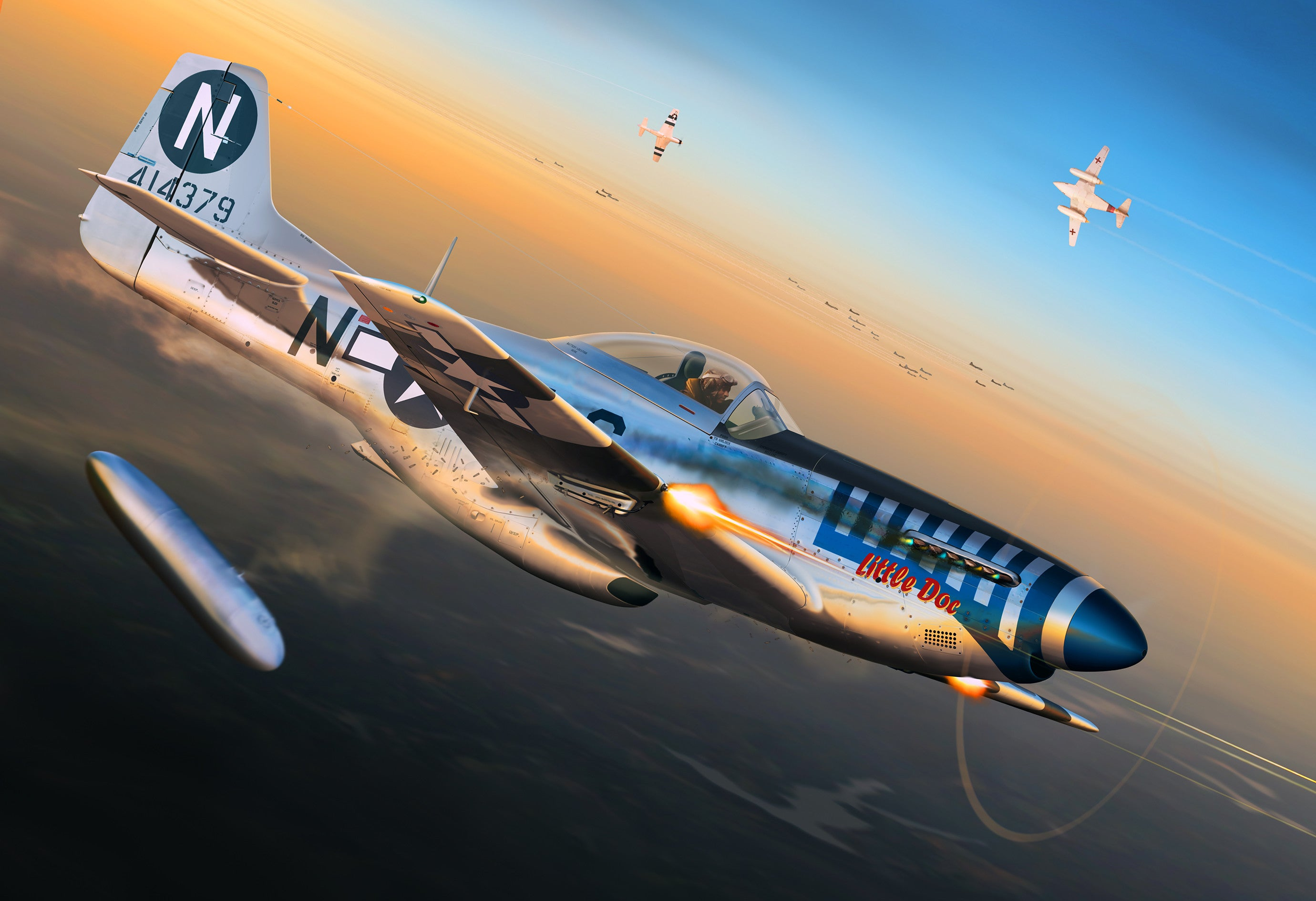 P 51d Mustang Little Doc Cole S Aircraft