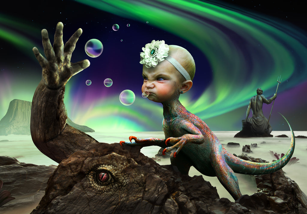 Surrealism Exercise: 'Bubble Offering' by Ron Cole