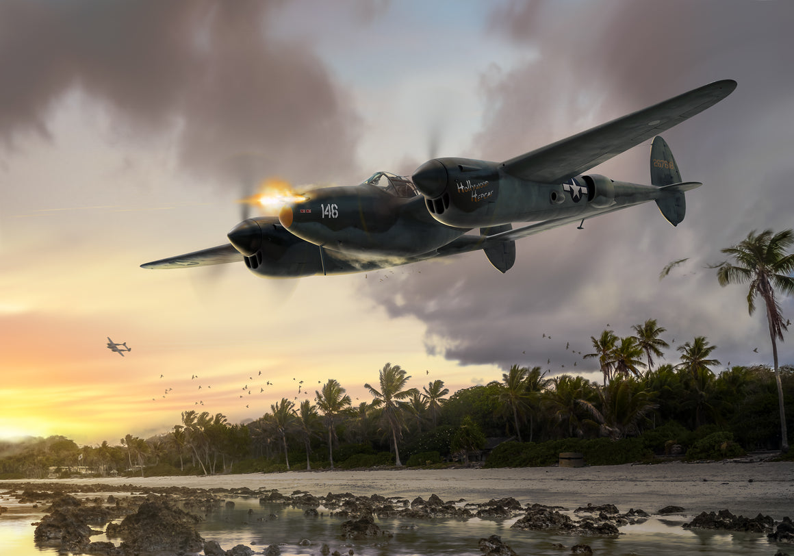 P-38 Lightning 'Hollywood Hepcat' by Ron Cole