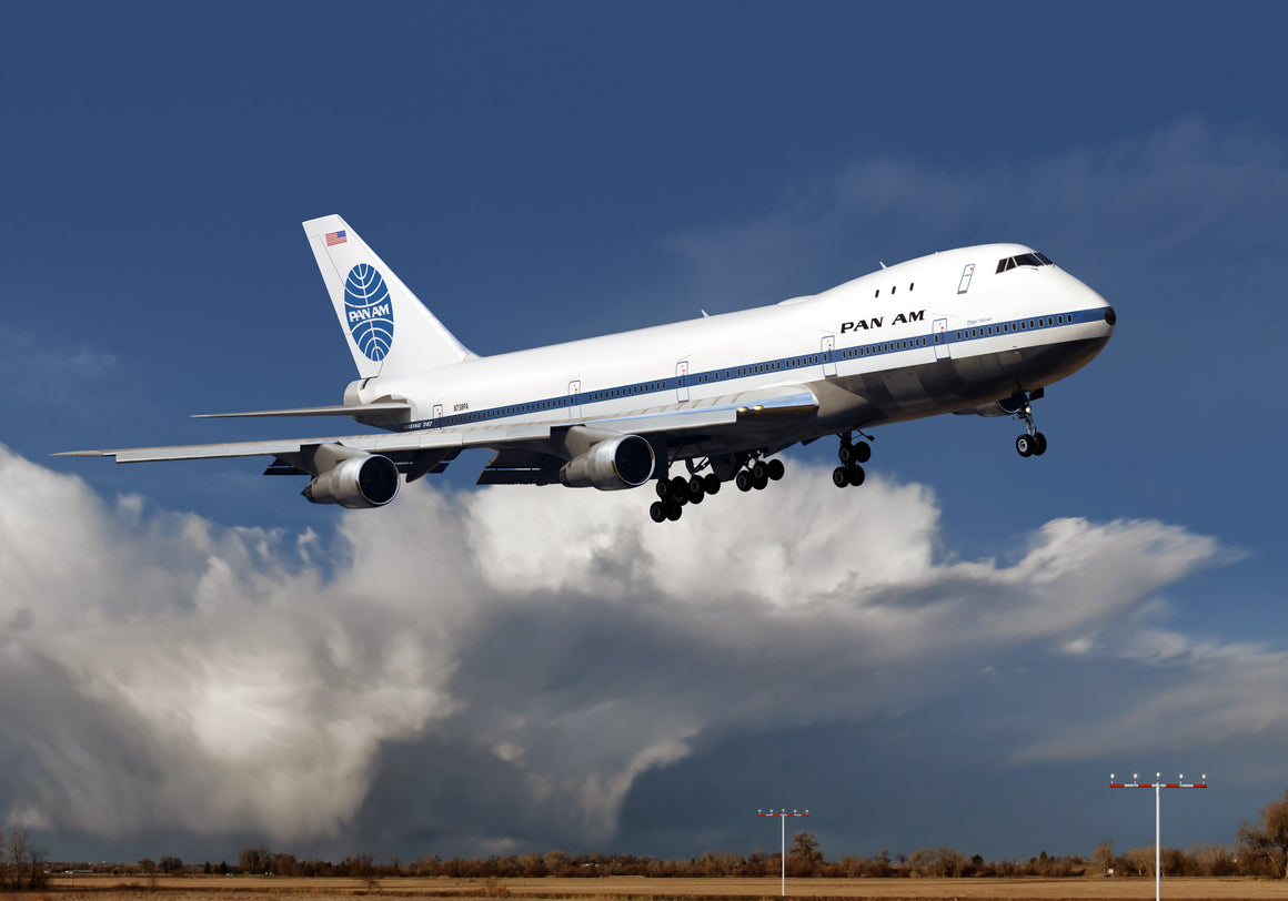 Pan Am Boeing 747-100 - Cole's Aircraft - 1