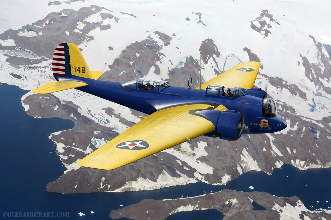 Martin B-10 Alaska Flight - Cole's Aircraft - 1
