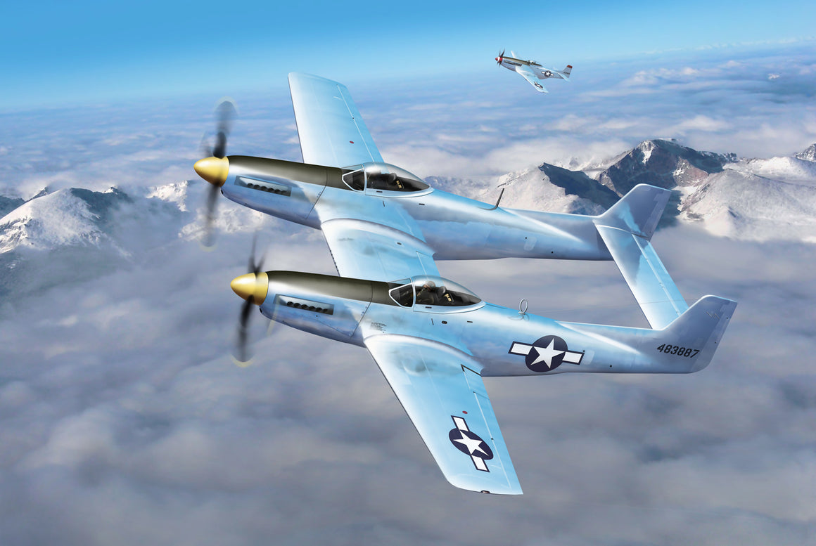 USAAF XP-82 Twin Mustang - Cole's Aircraft - 1