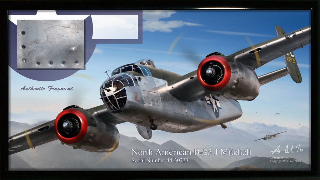 USAAF B-25J Mitchell Relic Display - Cole's Aircraft