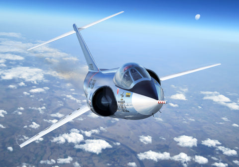 Lockheed F-104 Starfighter - Cole's Aircraft - 1