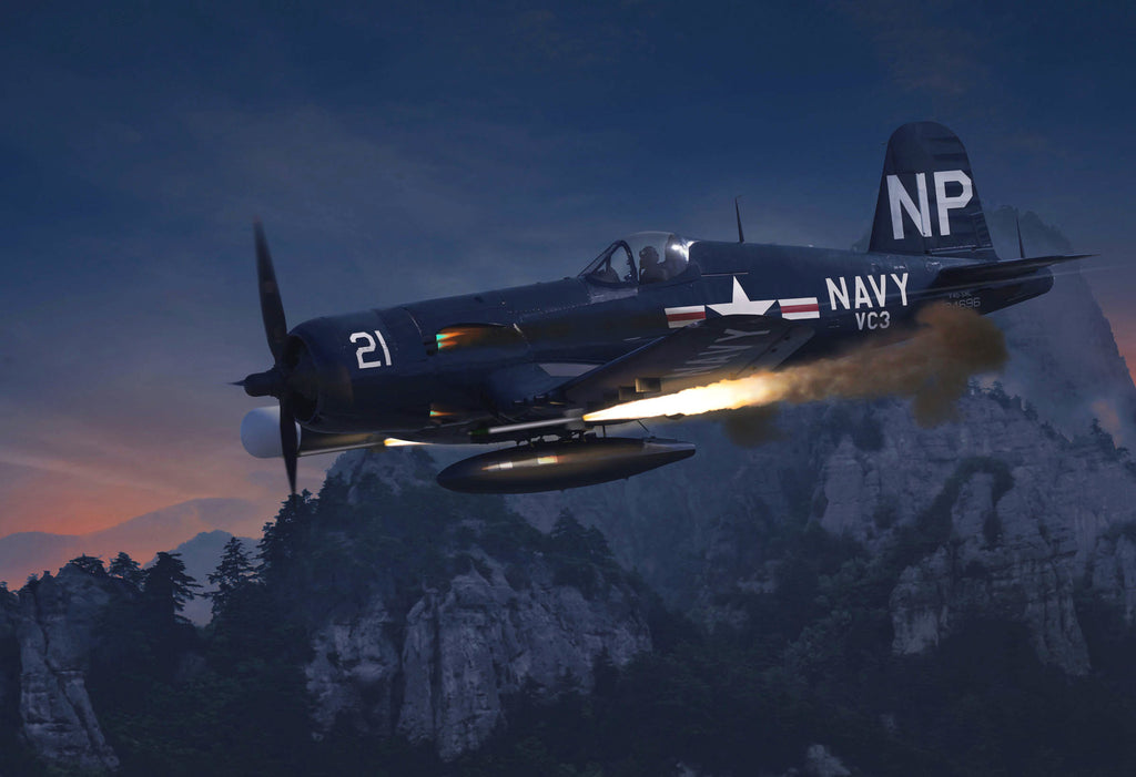 United States Navy F4U5 NL Corsair, VC 3 - Cole's Aircraft - 1
