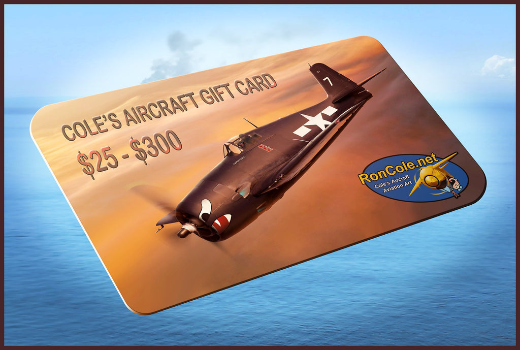 Cole's Aircraft Gift Card
