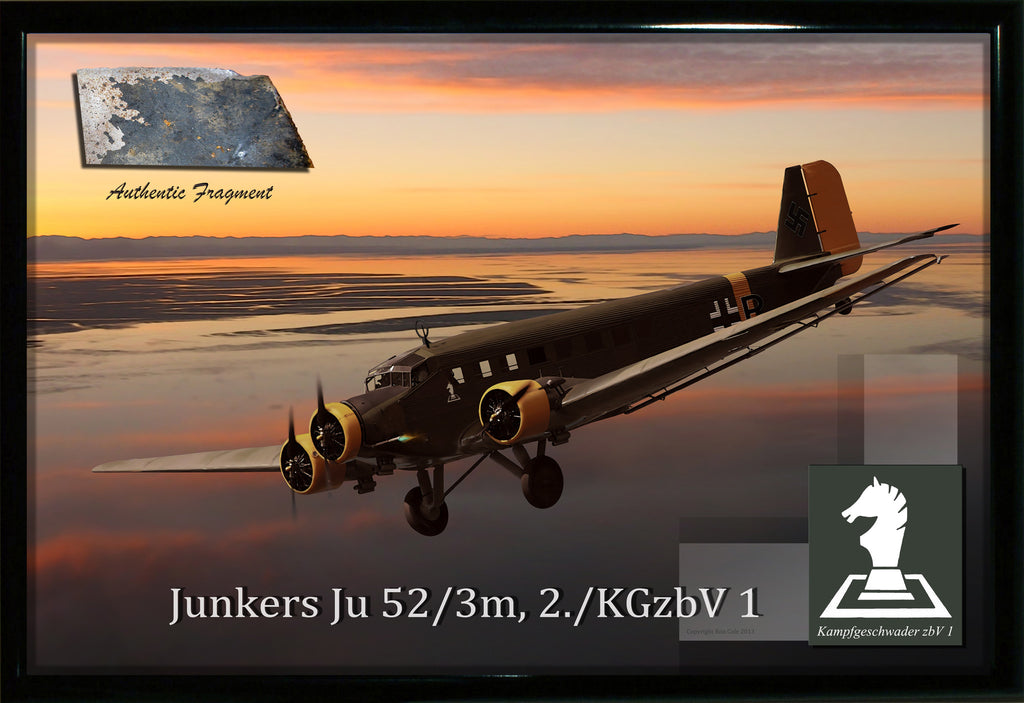 Luftwaffe Junkers Ju 52 Relic Display - Cole's Aircraft