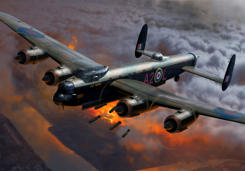 RAF Avro Lancaster B.II 'Lily Mars' - Cole's Aircraft - 1