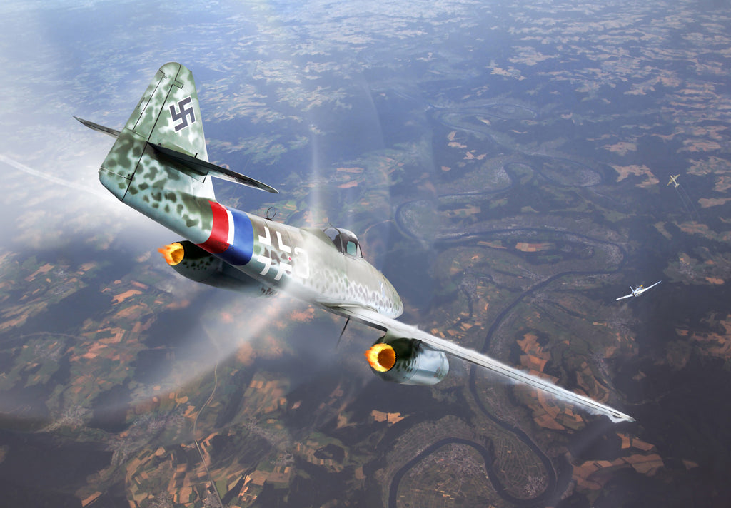 Messerschmitt Me 262 Breaking the Sound Barrier, April 9th 1945 - Cole's Aircraft - 1