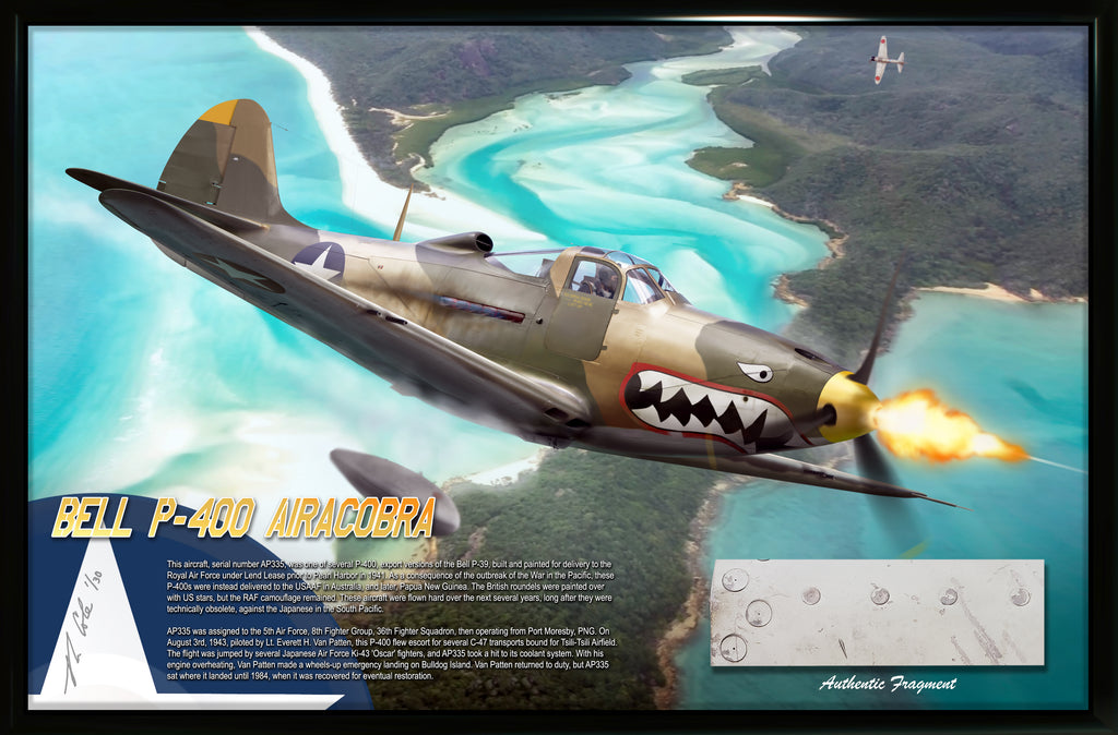 Bell P-400 (P-39) Airacobra 'The Flying Fiends' of Port Moresby, 1943 Relic Display