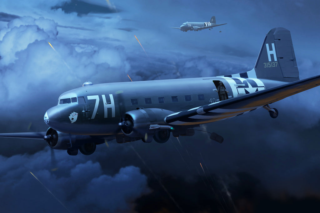 C-47 'Chalk 40' on D-Day - Cole's Aircraft - 1