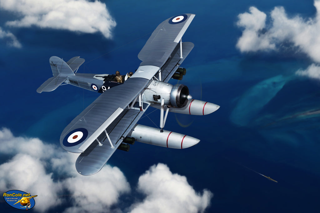 Fairey Swordfish 'Stalking the Wolf' by Ron Cole - Cole's Aircraft - 1