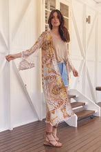 Load image into Gallery viewer, Jaase Lillie Kimono - Leo Print
