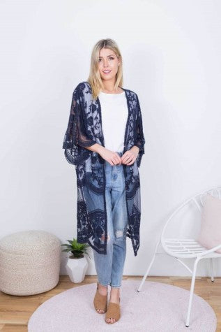 Blue Soul 'Wilderstein' Lace Duster
