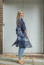 Load image into Gallery viewer, Blue Soul 'Wilderstein' Lace Duster