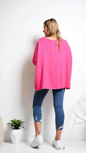 Blue Soul 'Faven' Drape Top