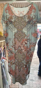 Spicy Sugar Paisley Dress