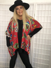 Load image into Gallery viewer, Mila Alexandra Kimono - 'Day of the Dead'