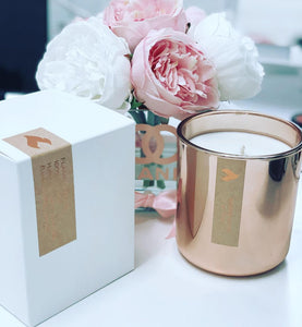 Flame Candles Copper Collection - Lavendar Cucumber & Sage